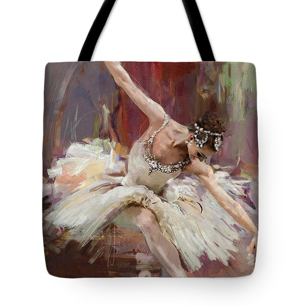 Ballerina 36 Tote Bag