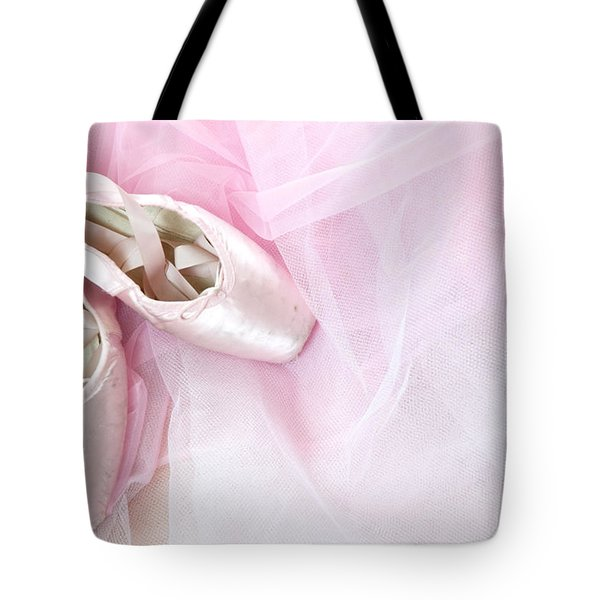 Ballerina Dreams Tote Bag by Zina Zinchik