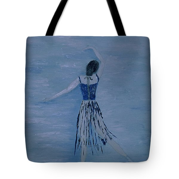 Ballerina Tote Bag by Inge Lewis