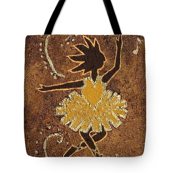 Ballerina Tote Bag by Katherine Young-Beck