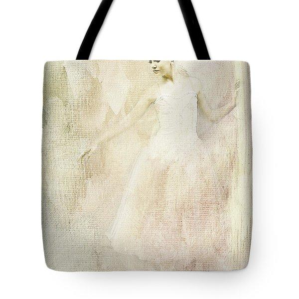 Ballerina Tote Bag by Linda Blair