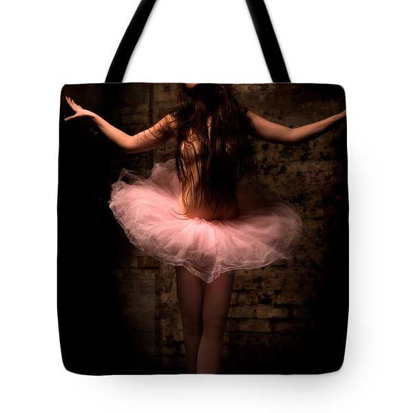 Ballerina Tote Bag by Tbone Oliver