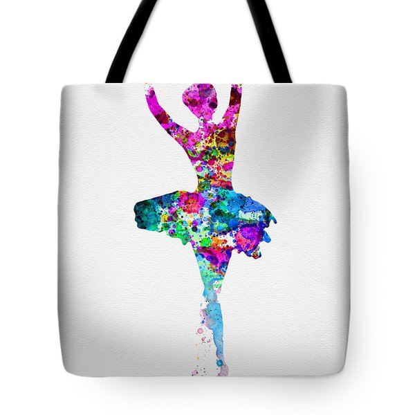 Ballerina Watercolor 1 Tote Bag