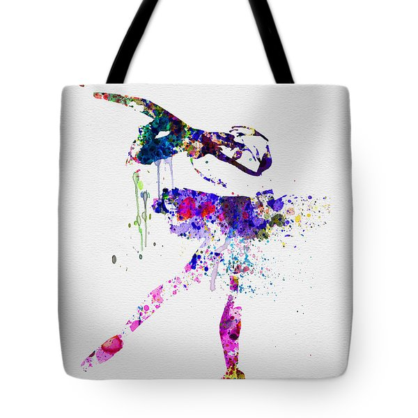 Ballerina Watercolor 2 Tote Bag