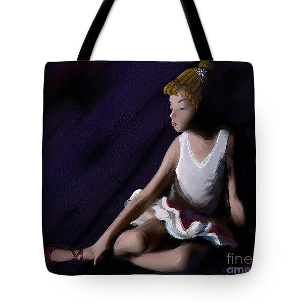 Ballet Dancer Tote Bag by Michelle Wiarda