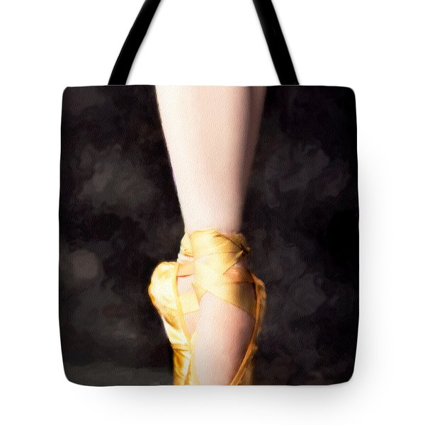 Tote Bag featuring the photograph Ballet by David Perry Lawrence