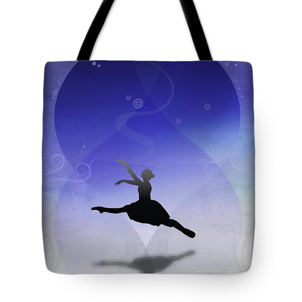 Ballet In Solitude  Tote Bag by Bedros Awak
