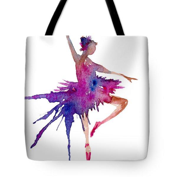 Ballet Retire Devant Tote Bag