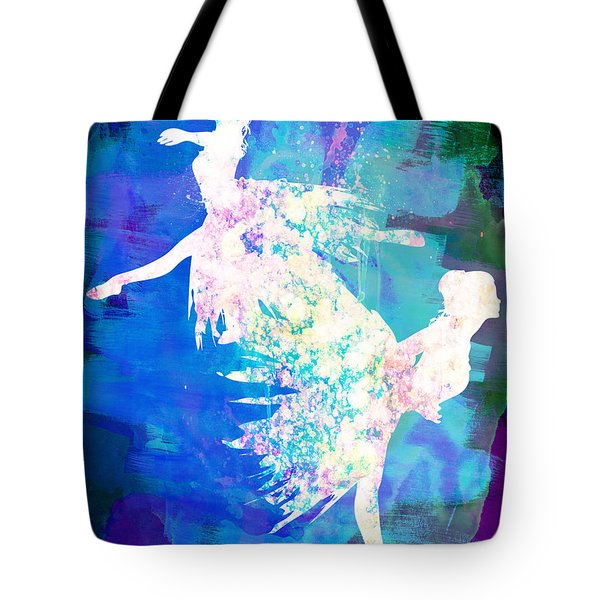 Ballet Watercolor 2 Tote Bag