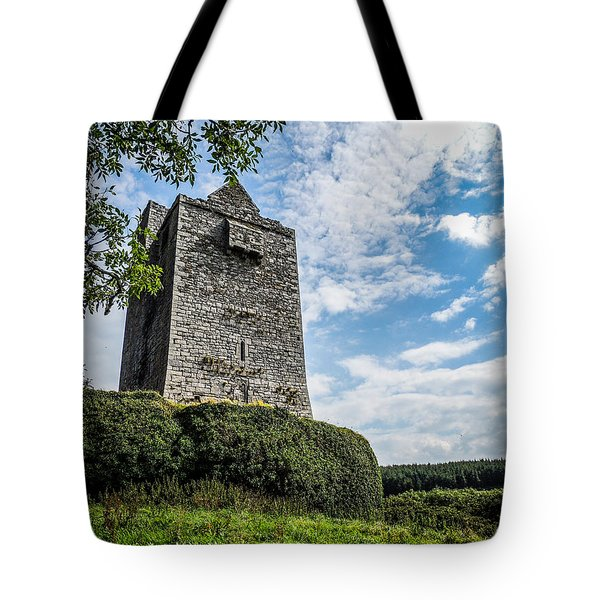 Ballinalacken Castle In Ireland's County Clare Tote Bag