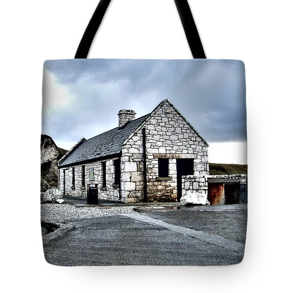 Ballintoy Stone House Tote Bag