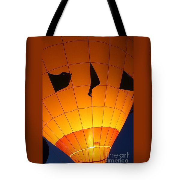 Ballon-glowyellow-7703 Tote Bag by Gary Gingrich Galleries