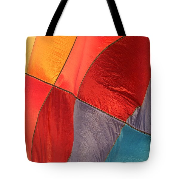Balloon Colors Tote Bag by Art Block Collections