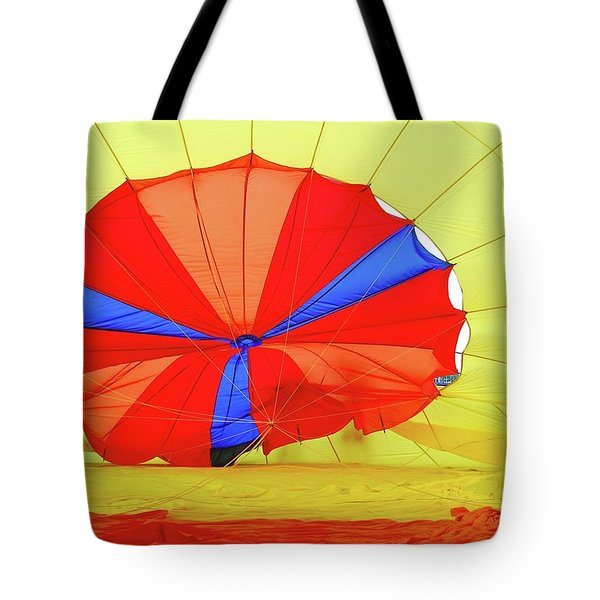 Tote Bag featuring the photograph Balloon Fantasy   1 by Allen Beatty