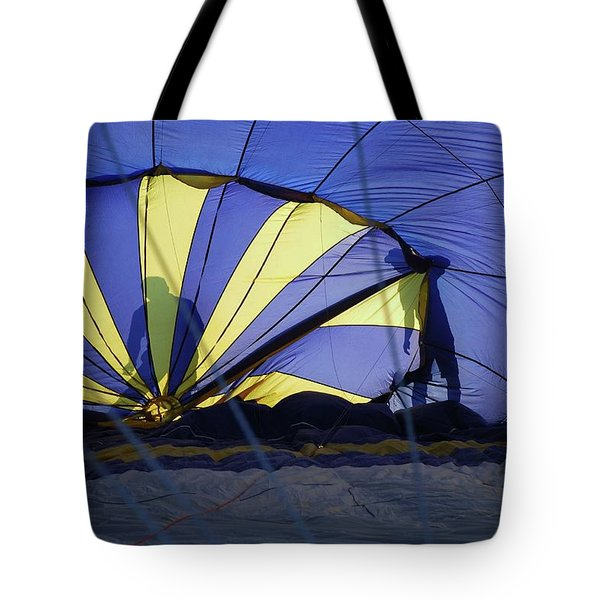 Tote Bag featuring the photograph Balloon Fantasy 4 by Allen Beatty