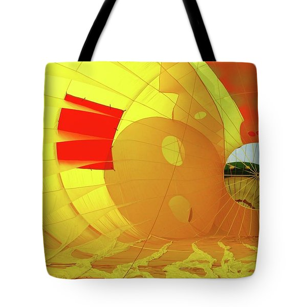 Tote Bag featuring the photograph Balloon Fantasy 6 by Allen Beatty