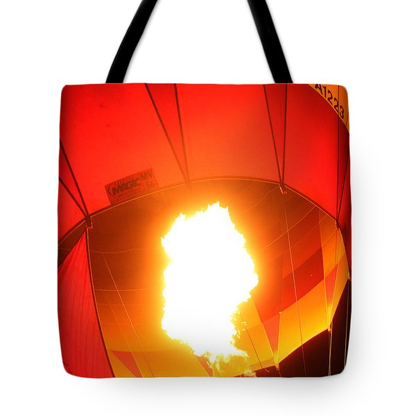 Balloon-glow-7917 Tote Bag by Gary Gingrich Galleries