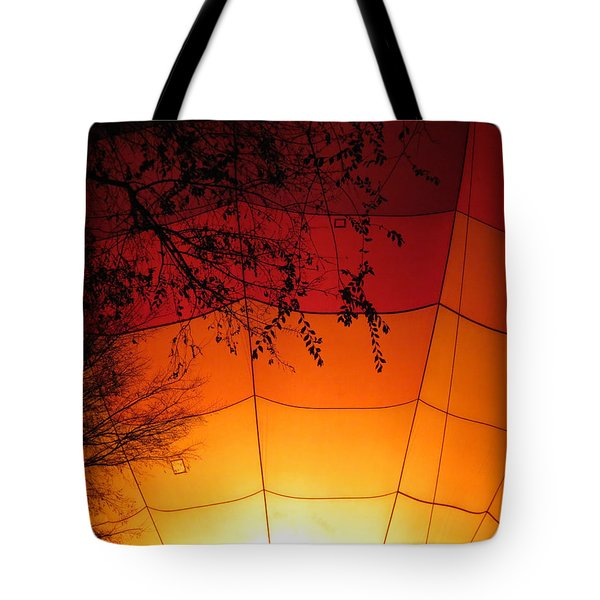 Balloon Glow Tote Bag by Laurel Powell