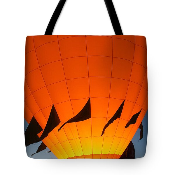 Balloon-glowyellow-7689 Tote Bag by Gary Gingrich Galleries