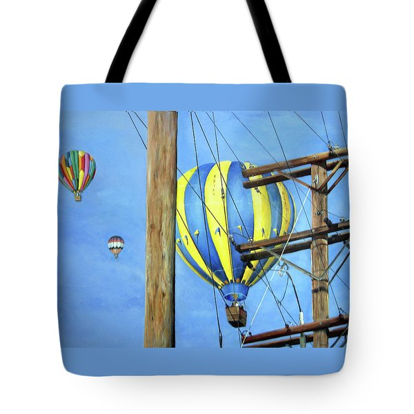 Balloon Race Tote Bag