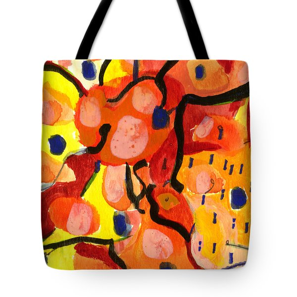 Balloons At Mid-day Tote Bag by Stephen Lucas
