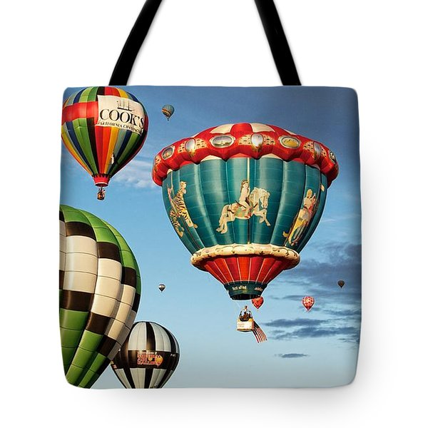 Balloons Away Tote Bag by Dave Files