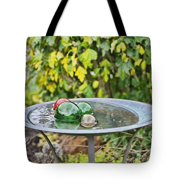 Balls In Water Tote Bag by Denise Romano