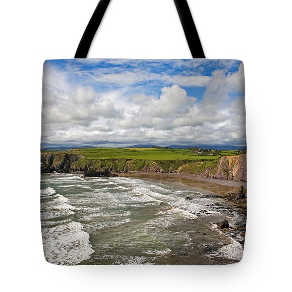 Ballydowane Cove On The Copper Coast Tote Bag