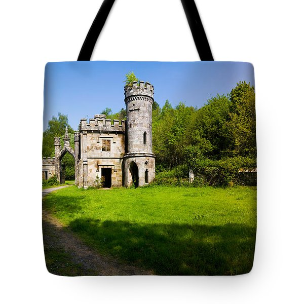 Ballysaggartmore Towers, Lismore Tote Bag