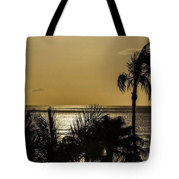 Balmy Beach Tote Bag