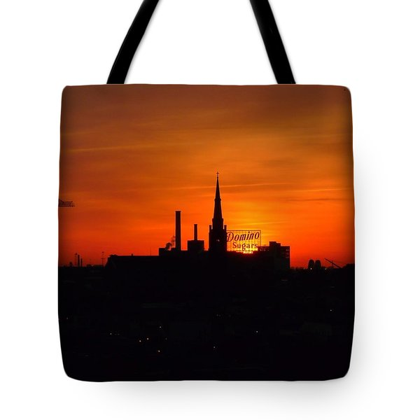 Baltimore Dawn Tote Bag by Robert Geary