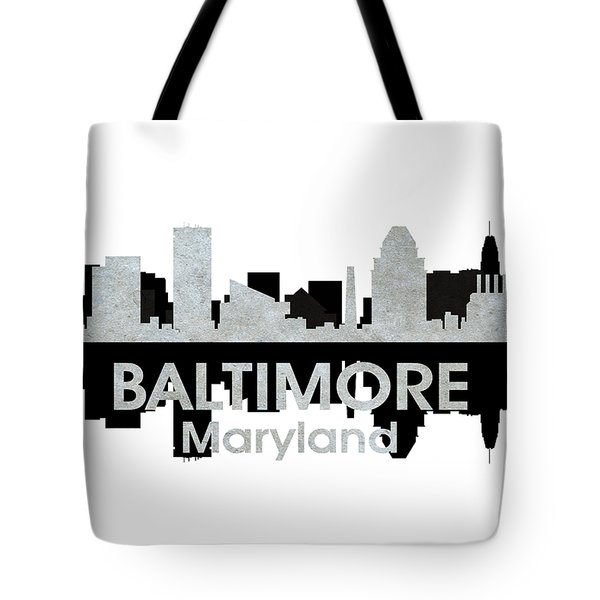 Baltimore Md 4 Tote Bag by Angelina Vick