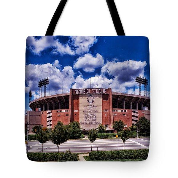 Baltimore Memorial Stadium 1960s Tote Bag