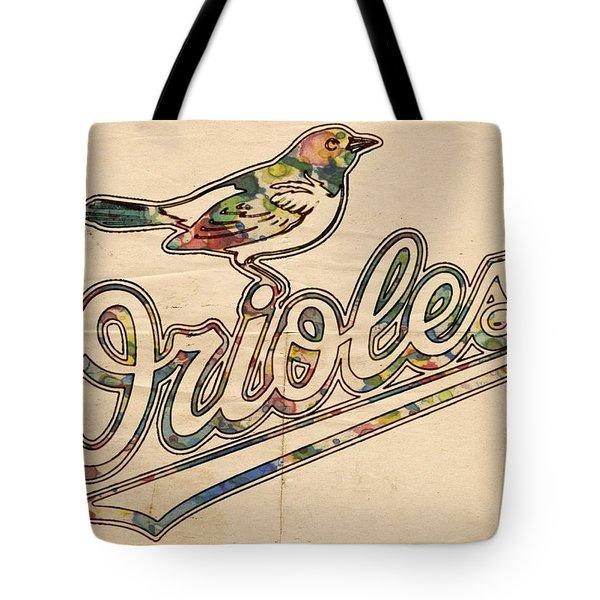 Baltimore Orioles Stylish Logo Tote Bag