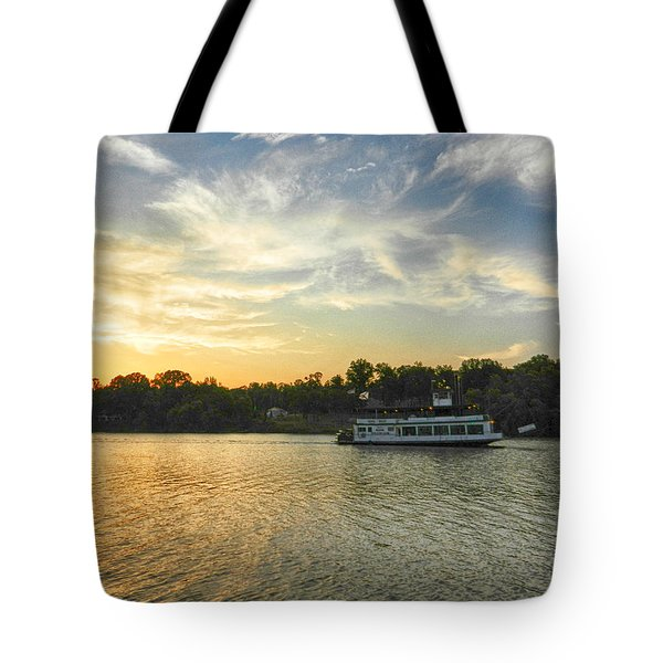 Bama Belle Sunset Tote Bag