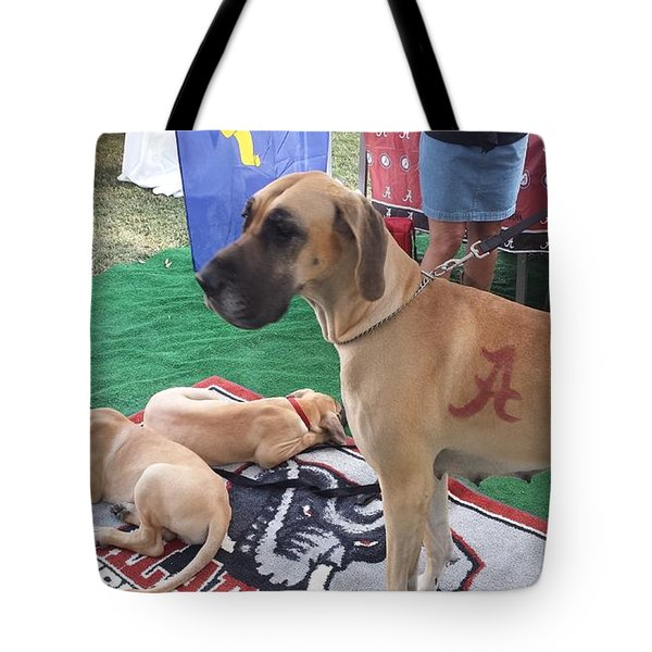 Bama Great Dane Tote Bag