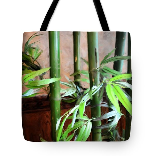Tote Bag featuring the photograph Plant -  Bamboo  -  Luther Fine Art by Luther Fine Art