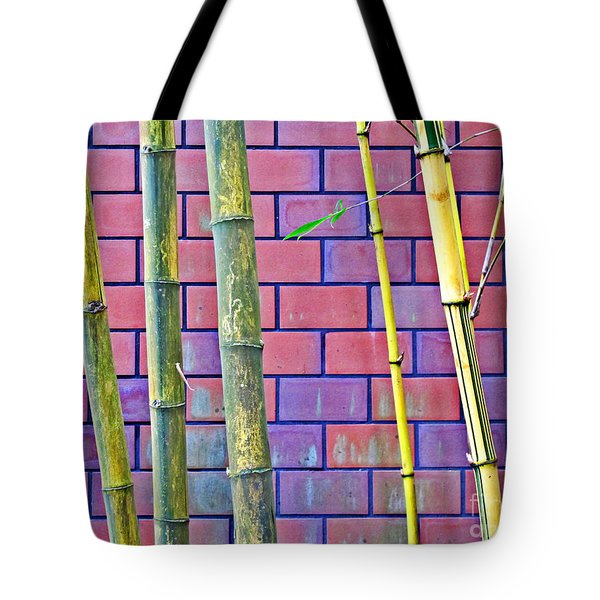 Bamboo And Brick Tote Bag