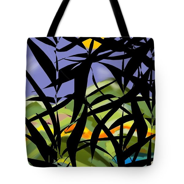 Bamboo Tote Bag by Christine Fournier