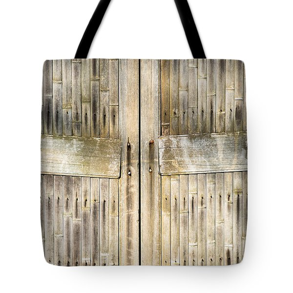 Bamboo Gates Tote Bag by Alexander Senin