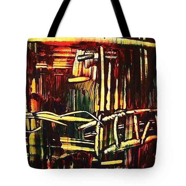 Bamboo Tote Bag by Janice Nabors Raiteri