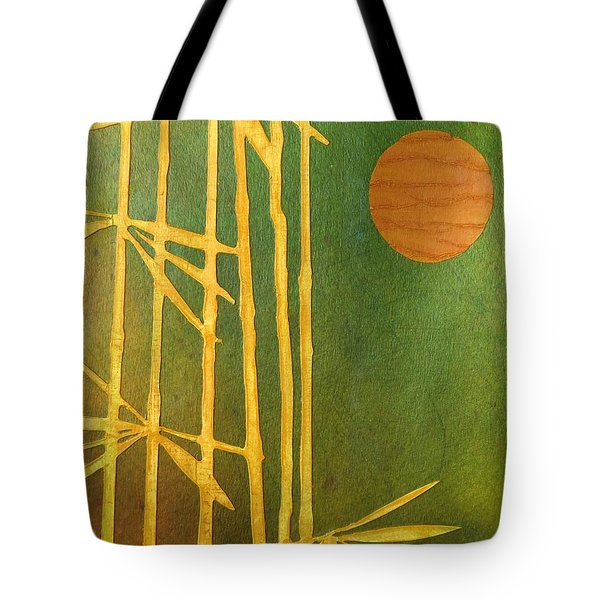 Bamboo Moon Tote Bag by Desiree Paquette