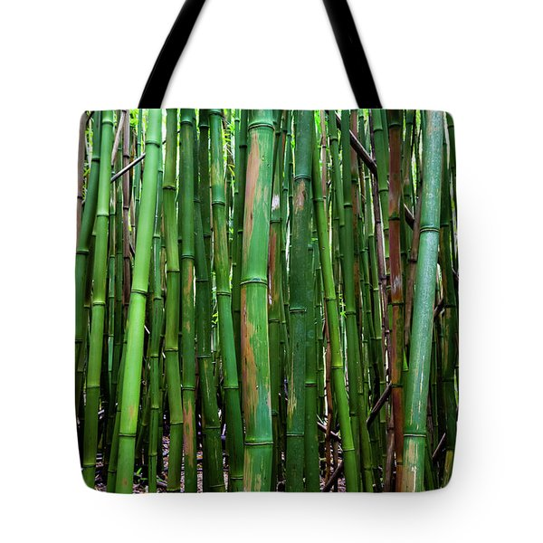 Bamboo Trees, Maui, Hawaii, Usa Tote Bag