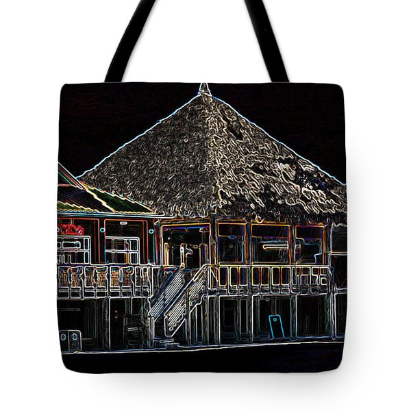 Bamboo Willies In Neon Tote Bag