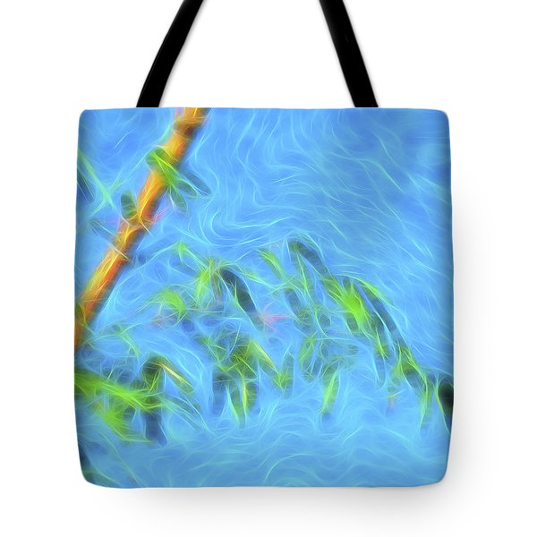 Bamboo Wind 1 Tote Bag