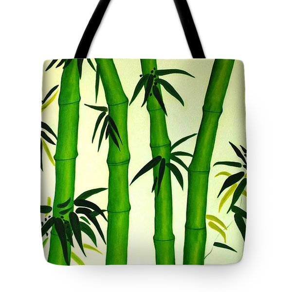 Bamboos Tote Bag