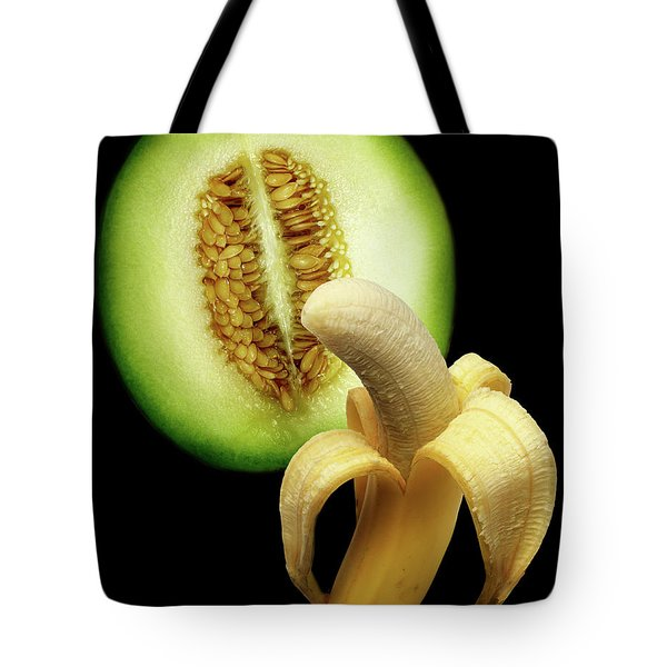 Banana And Honeydew Tote Bag
