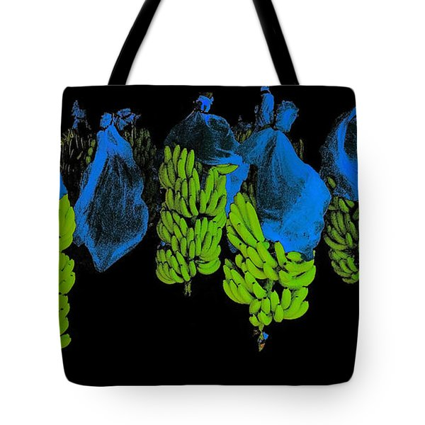 Tote Bag featuring the photograph Banana Art by Rudi Prott