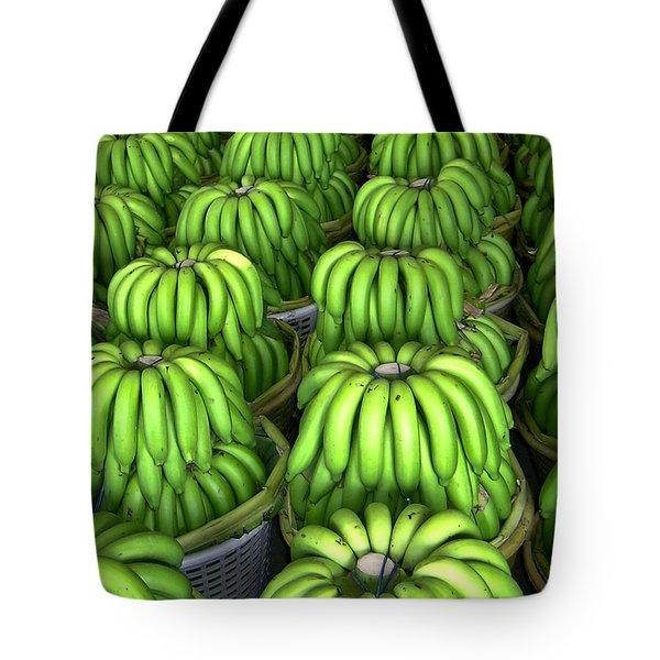 Banana Bunch Gathering Tote Bag by Douglas Barnett
