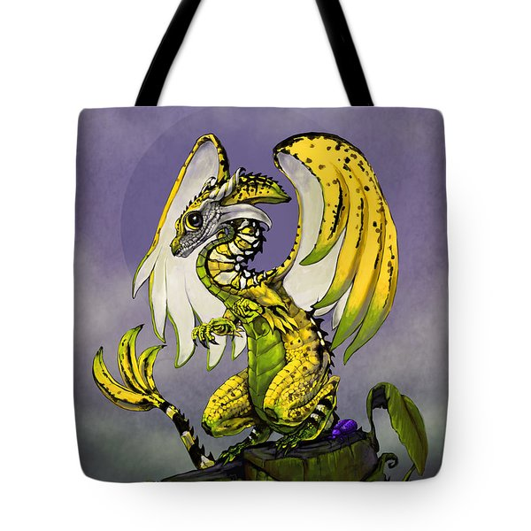 Banana Dragon Tote Bag